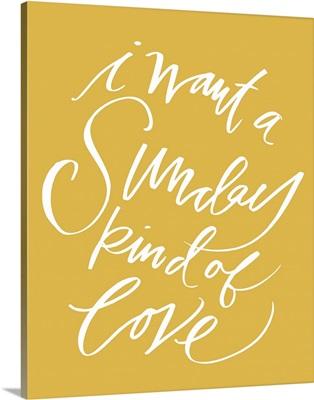 Sunday Love - Honey