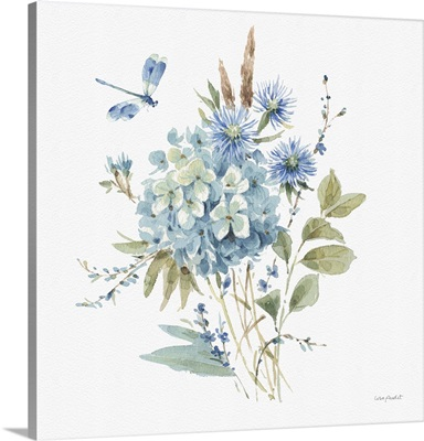 Bohemian Blue 04 On White