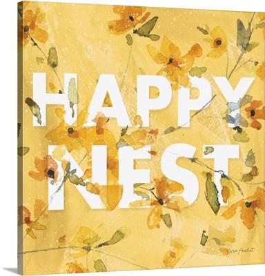Happy Yellow 15 Square
