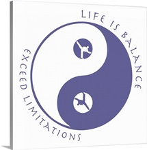 Life Is Balance - Martial Arts