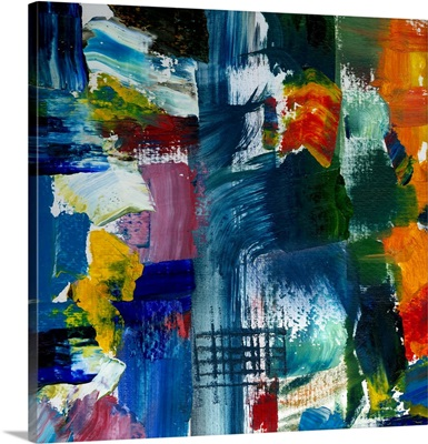 Abstract Color Panel IV