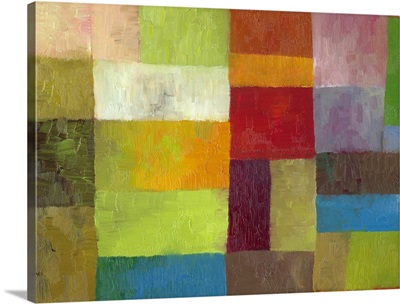 Abstract Color Panels IV