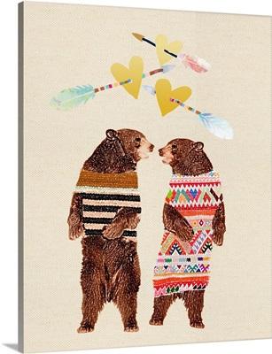 Boho Love Bears