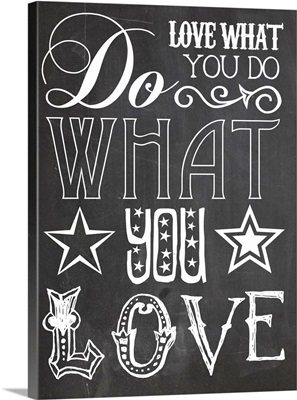 Do What you Love Black