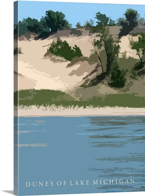 Dune of Lake Michigan