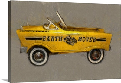 Earth Mover Pedal Car