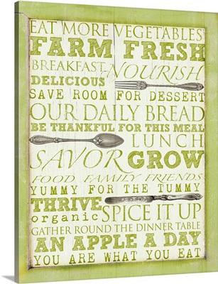 Farm Fresh Typography
