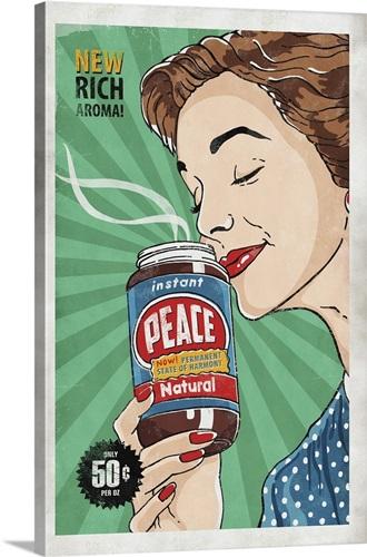 Instant Peace Wall Art, Canvas Prints, Framed Prints, Wall Peels ...