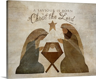 Nativity Christ is the Lord