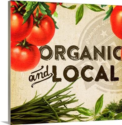 Organic and Local Tomato