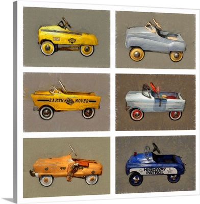 Pedal Car Collage
