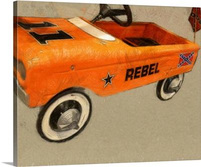 Rebel Pedal Car