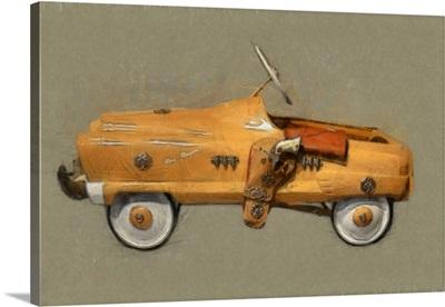 Roy Rogers Pedal Car