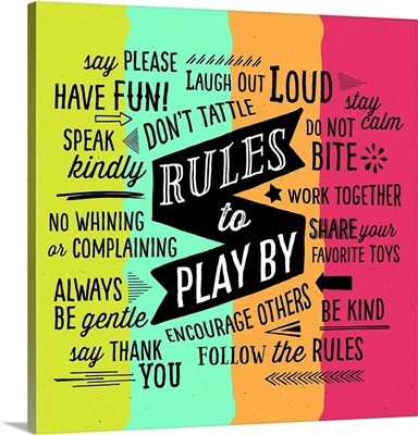 Rules to Play By
