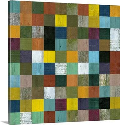 Rustic Wooden Abstract III