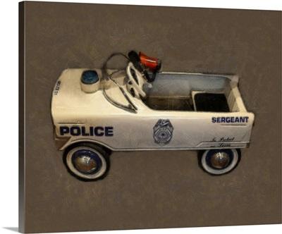 Sergeant Pedal Car