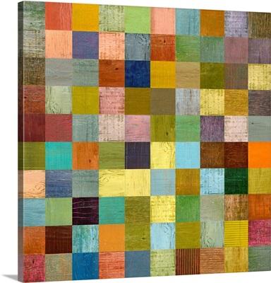 Soft Palette Rustic Wood Series I