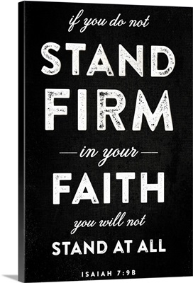 Stand Firm Black