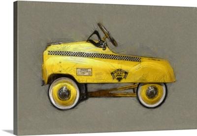 Taxi Cab Pedal Car