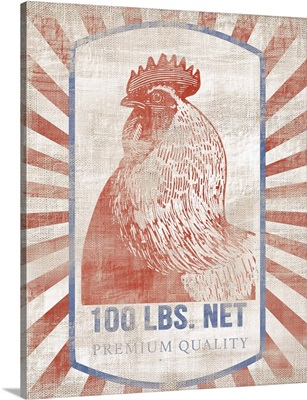 Vintage Chicken Feed Sack