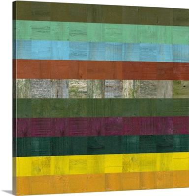 Wooden Abstract III