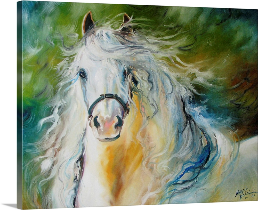 Cloud The White Andalusian Wall Art Canvas Prints Framed Prints Wall Peels Great Big Canvas