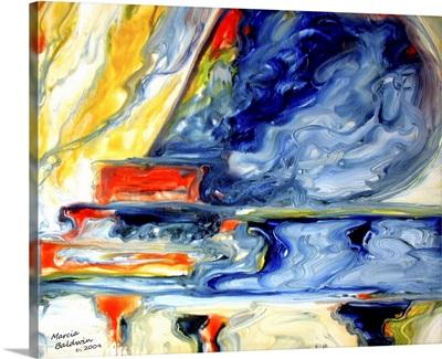 Grand Piano Music Abstract 2420