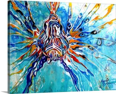 Lion Fish Blue
