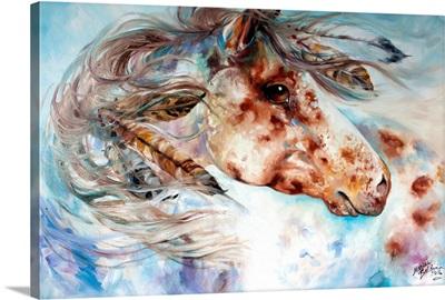 Thunder Appaloosa Indian War Horse