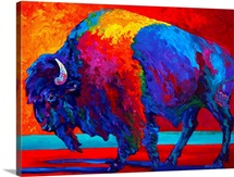 Abstract Bison