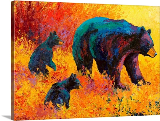Double Trouble Black Bear Wall Art, Canvas Prints, Framed Prints ...