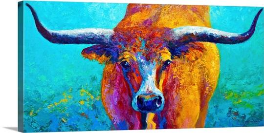 Wide Spread Texas Longhorn