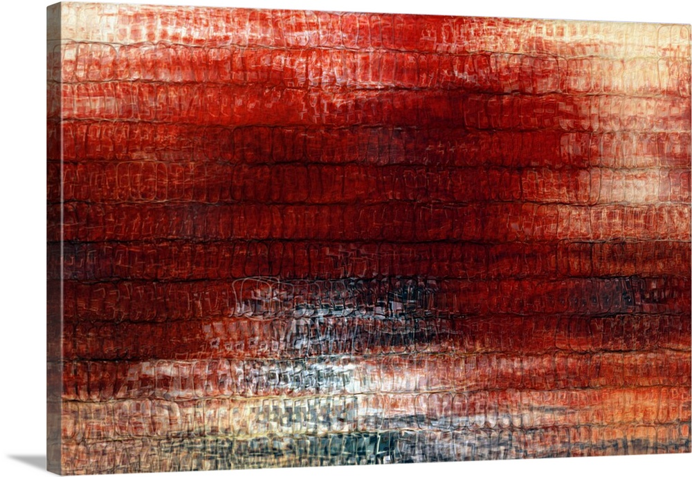 Romans 5:8. Christ Died For Us. Modern Abstract Fine Art
