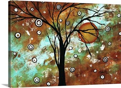 Autumns Eve - Contemporary Landscape Painting