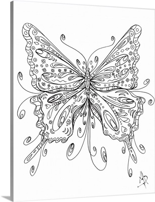 Beautiful Butterfly I