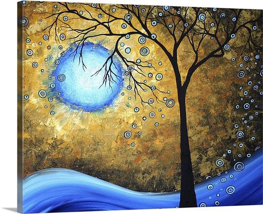 Blue Fire Wall Art, Canvas Prints, Framed Prints, Wall Peels | Great ...