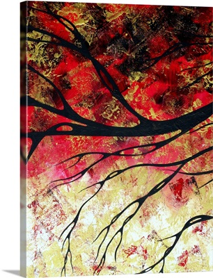 Bring Me Home 2 - Abstract Gold Art  Landscape