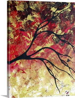 Bring Me Home 4 - Abstract Gold Art  Landscape