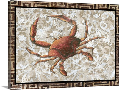Crab with Greek Border I