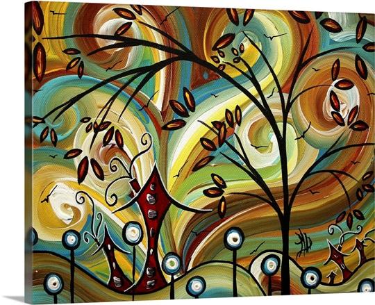Fall Colors 200 - Contemporary Pop Art Wall Art, Canvas Prints ...