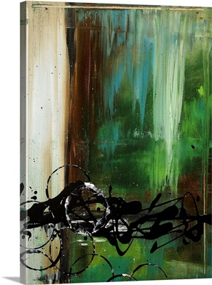 Falling Waterfall - Contemporary Abstract