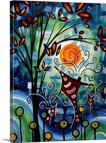 Fantasy Village - Contemporary Pop Art Wall Art, Canvas Prints ...