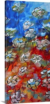 Floating Poppies - Contemporary Floral Art
