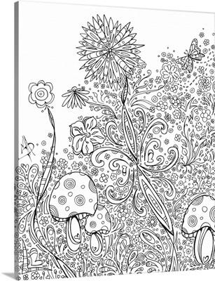 Flowers and Mushrooms