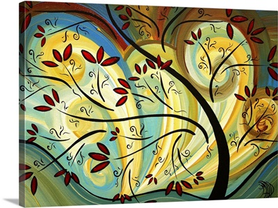 Follow The Wind 175 - Whimsical Contemporary Artwork