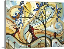 Freshly Bloomed - Whimsical Contemporary Artwork