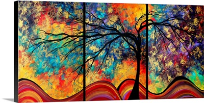 Go Forth Larger - Contemporary  Landscape Painting