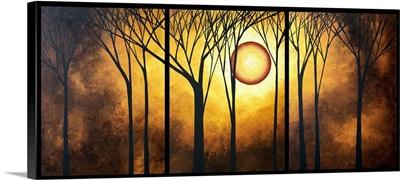 Golden Halo - Contemporary Landscape Painting