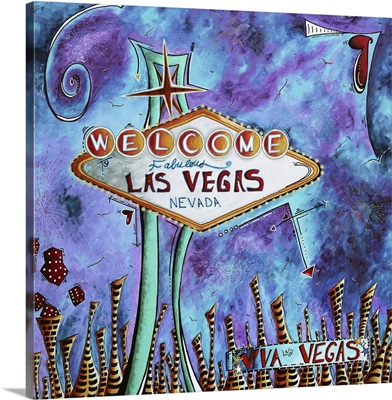 Iconic Las Vegas Sign