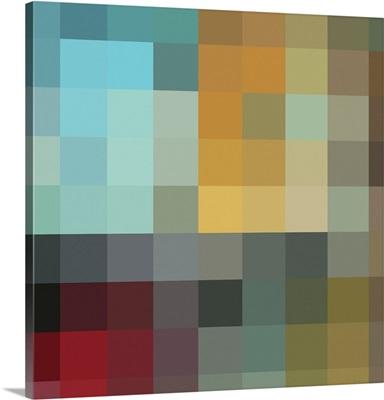 In the Maze Color Block II